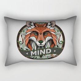 Mind Rectangular Pillow