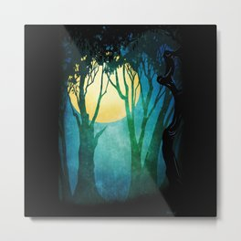 Dance By The Light Of The Full Moon Metal Print