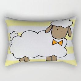 The Little Sheep I Rectangular Pillow