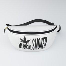 Medical Smoker | Cannabis Weed Art Work Fanny Pack