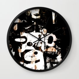 As Mulheres da Aldeia (Women Village) Wall Clock