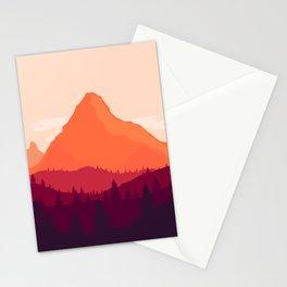 Warm Landscape Stationery Cards