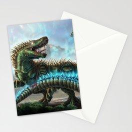 Godzilla VS. Atomic Rex Stationery Cards
