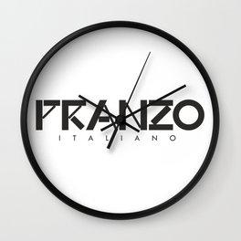PRANZO ITALIANO - taste for fashion Wall Clock