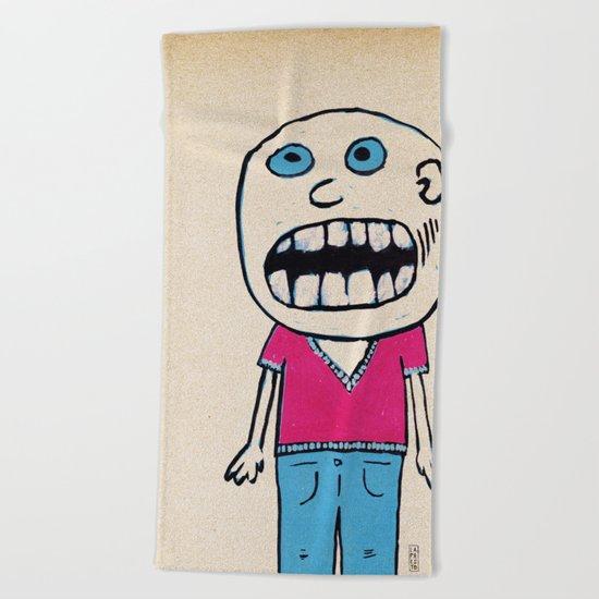 - no way - Beach Towel