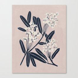Boho Botanica Canvas Print