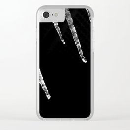 Icy night Clear iPhone Case