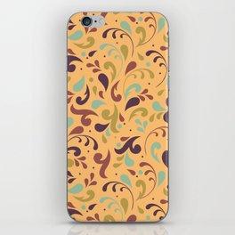 Swirls & Curls iPhone Skin