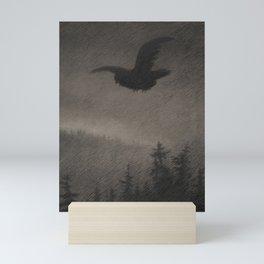 Autumn Evening Theodor Kittelsen Mini Art Print
