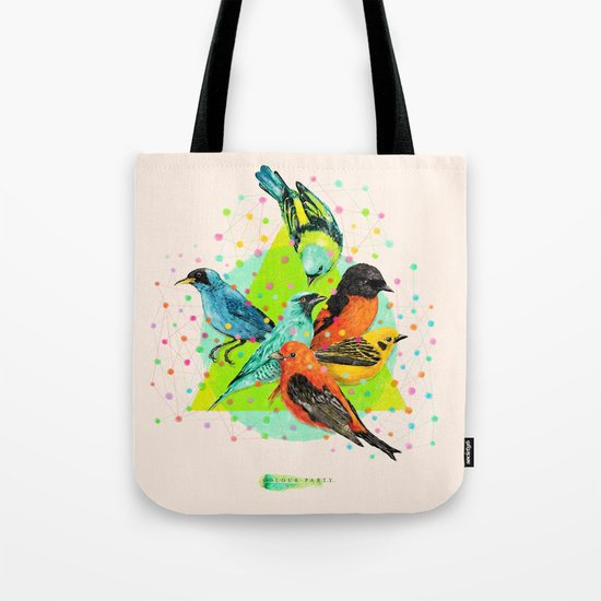 Colour Party III Tote Bag