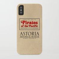 goonies iPhone & iPod Cases featuring THE GOONIES - Pirates of the Pacific exhibition by La Cantina