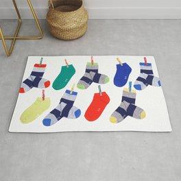 striped socks Rug