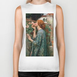 John William Waterhouse The Soul Of The Rose Biker Tank