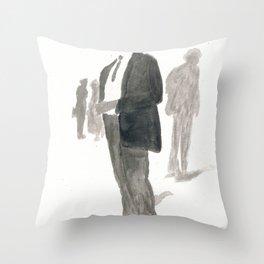 A Dapper Man Throw Pillow