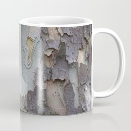 sycamore bark with a green tinge Coffee Mug
