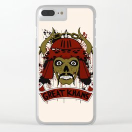 Great Khans Clear iPhone Case