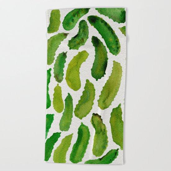 Pickles Beach Towel