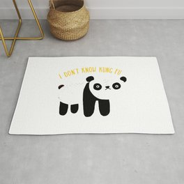 I Don't Know Kung-Fu Rug