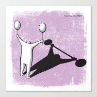 baloon Canvas Prints featuring Baloon by Stevo Mandic