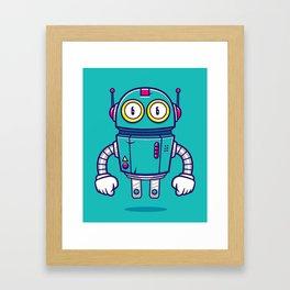 Bloop Jr Framed Art Print
