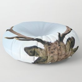 Stag antlers Floor Pillow