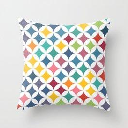 Stars - Parrot #290 Throw Pillow