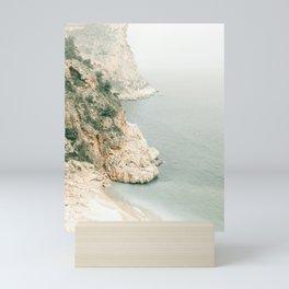 Beach Mountain II Mini Art Print