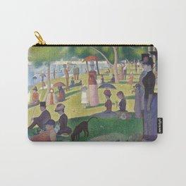 """Un dimanche après-midi à l'île de la Grande Jatte """"A Sunday on La Grande Jatte"""" Georges Seurat, 1886 Carry-All Pouch"""