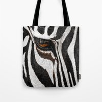 stripe Tote Bags featuring Stripe by nigel3