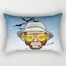 Monkey Business in Las Vegas Rectangular Pillow