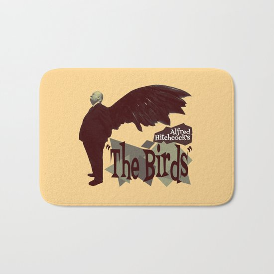Alfred Hitchcock  |  The Birds Bath Mat