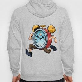 Clock Man Running Hoody