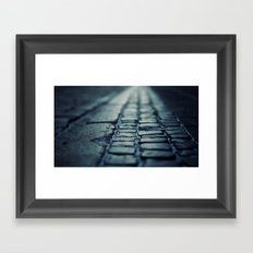 Present and Past Framed Art Print