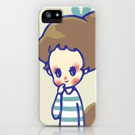 why are you smiling? iPhone Case