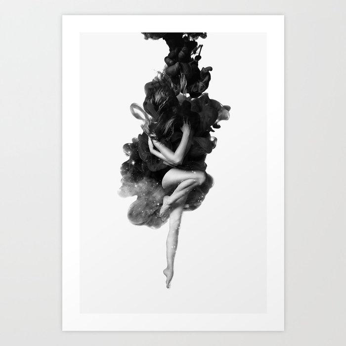 The born of the universe Art Print