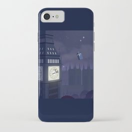 Second Star to the Right, Straight on to Gallifrey iPhone Case