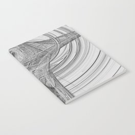Black and White Duvet Cover Original Magical Abstract 2015 Limited Addition Notebook