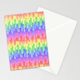 Rainbow Slime Stationery Cards