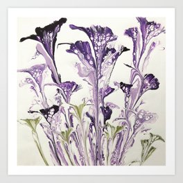 Lilac flower Art Print