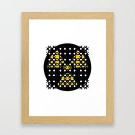 Mon&Nuclear Framed Art Print