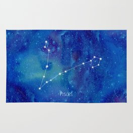 Constellation Pisces Rug