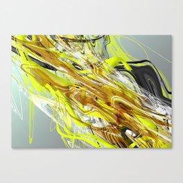 Oil & Dirt Canvas Print