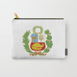 Peru Shield Carry-All Pouch
