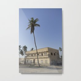 Salalah Beach Metal Print