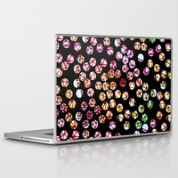polka dots Laptop & iPad Skins featuring Polka Dots by Take Five