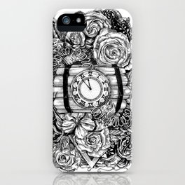 Bomb in the flowers iPhone Case
