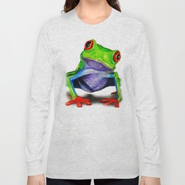 Mr. Ribbit Long Sleeve T-shirt