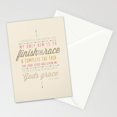 Acts 20:24 Stationery Cards