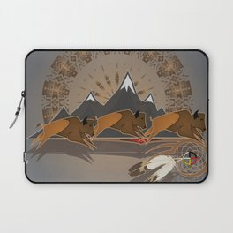 Native American Indian Buffalo Nation Laptop Sleeve