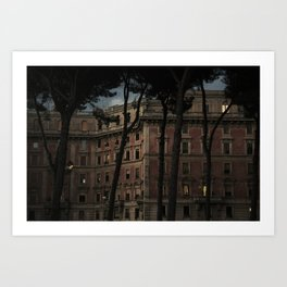 Hotels Tend to Lead People to Do Things They Wouldn't Necessarily do at Home Art Print